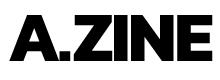 A.ZINE logo